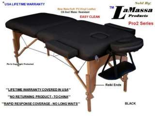 MASSAGE TABLE NEW BED PORTABLE+4 COLOR CHOICES+FREE SHEET+CRADLE COVER