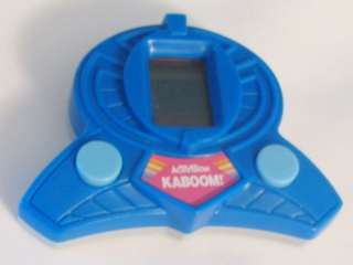 1981 Activision Burger King Action Kaboom Toy game