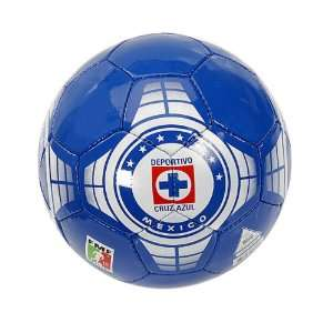 Cruz Azul Soccer Ball (Size 5): Sports & Outdoors