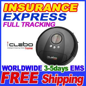 iClebo Home Robotic Vacuum Cleaner + English Manual