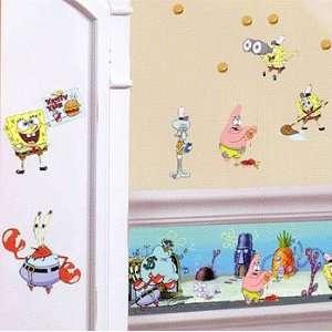 Patrick Spongebob Wall Border   Krusty Krab Kids Room Wallpaper