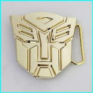 Official 3D Transformers Autobot Belt Buckle CA 010GD